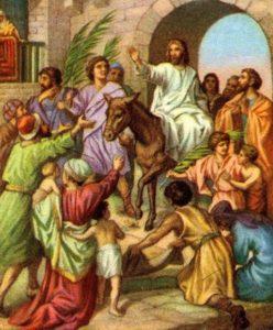 Christ is Coming! jesus travels to jerusalem