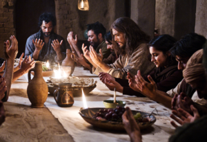 Praise the Lord & Pass the Ammunition Last Supper