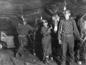 The Cat's in the Cradle Coal mines