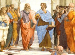 My Chinny Chin Chin Aristotle and Plato