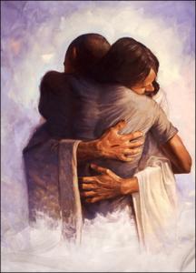 Every Heart Prepare Him Room Jesus Hugging